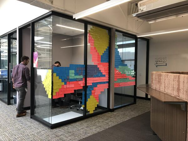fund-for-the-arts-post-it-wall