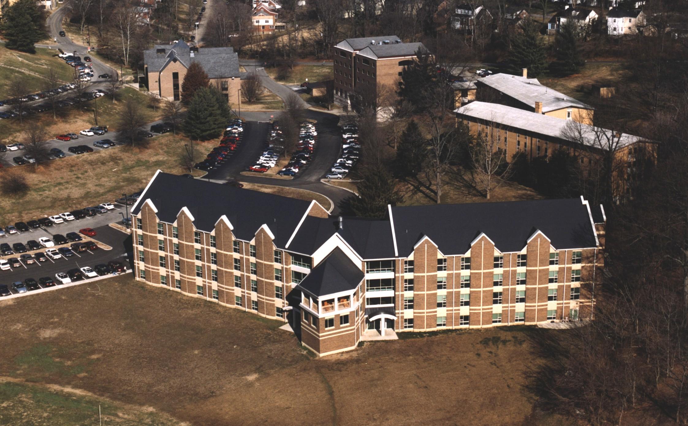 bellarmine-university-anniversary-hall-aerial