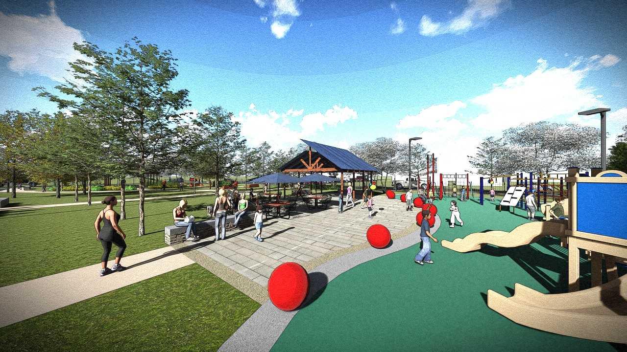 fulton-park-playground-picnic-tables-sidewalk