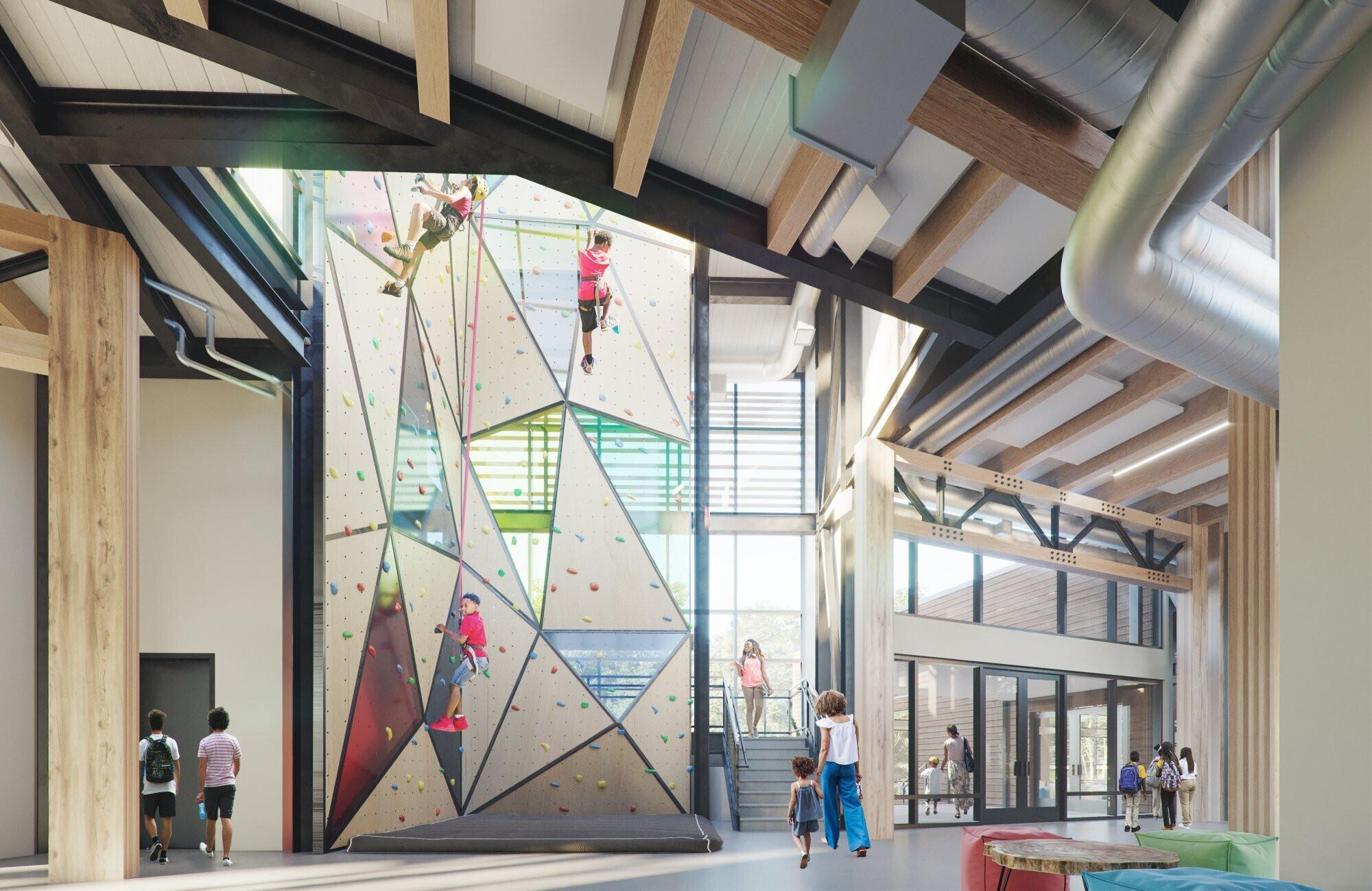 shawnee-outdoor-learning-center-interior-climbing-wall