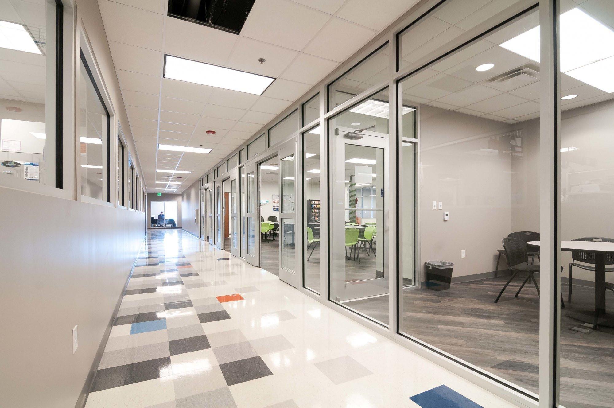 eurofins-office-laboratory-facility-hallway