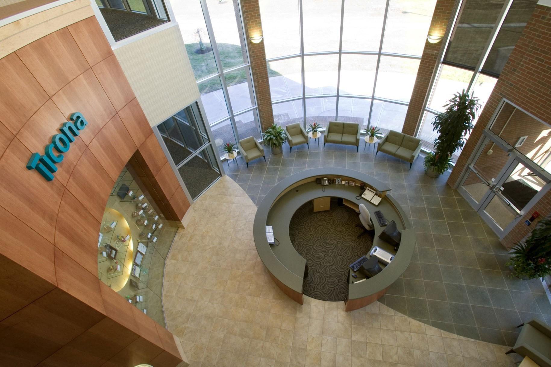 ticona-plastics-headquarters-research-development-lobby