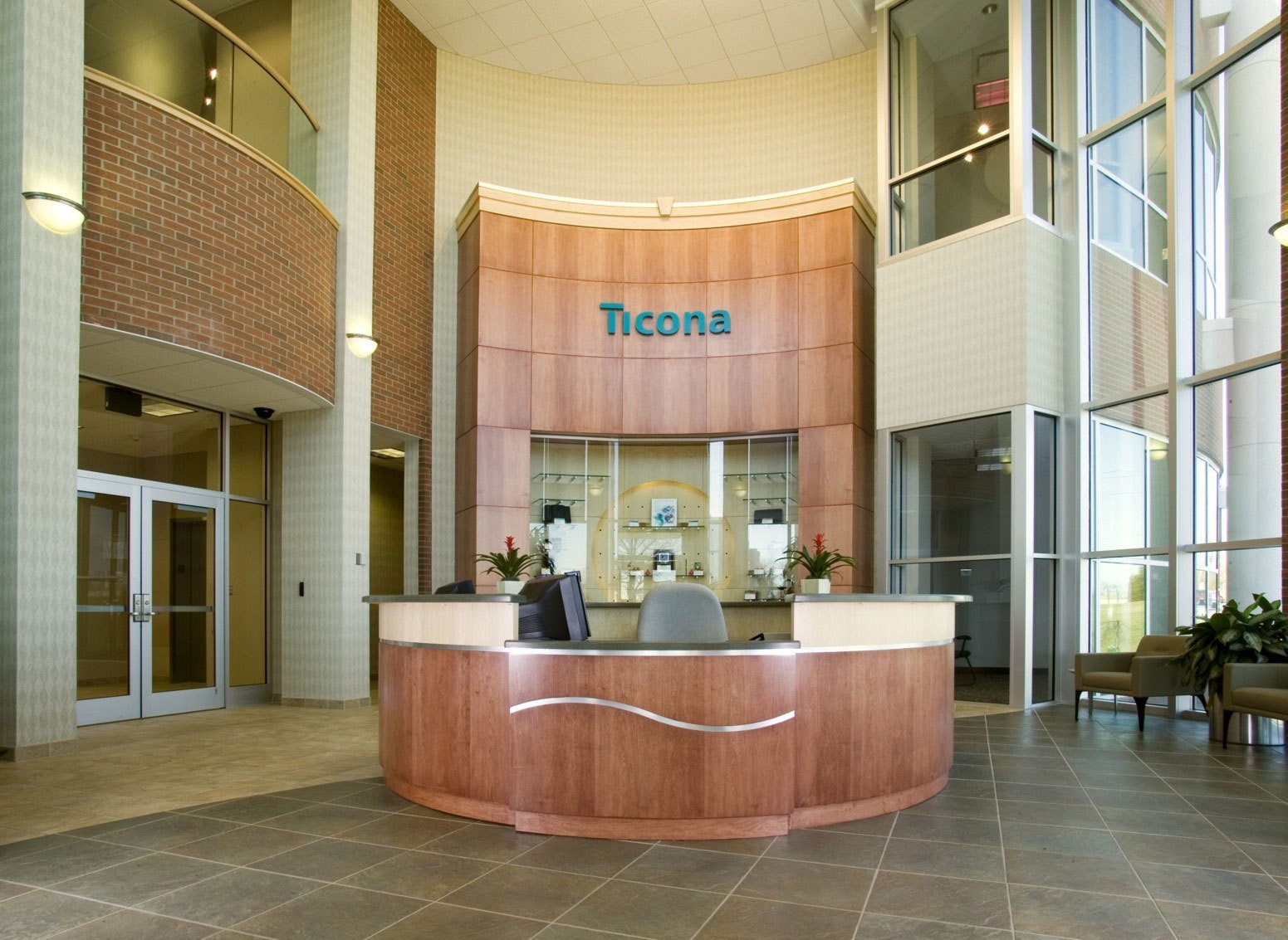 ticona-plastics-headquarters-research-development-reception