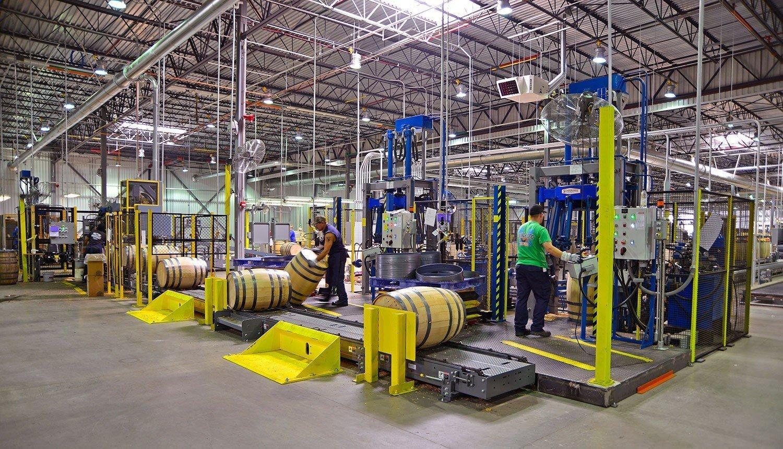 jack-daniels-cooperage-interior-barrel-assemblyline