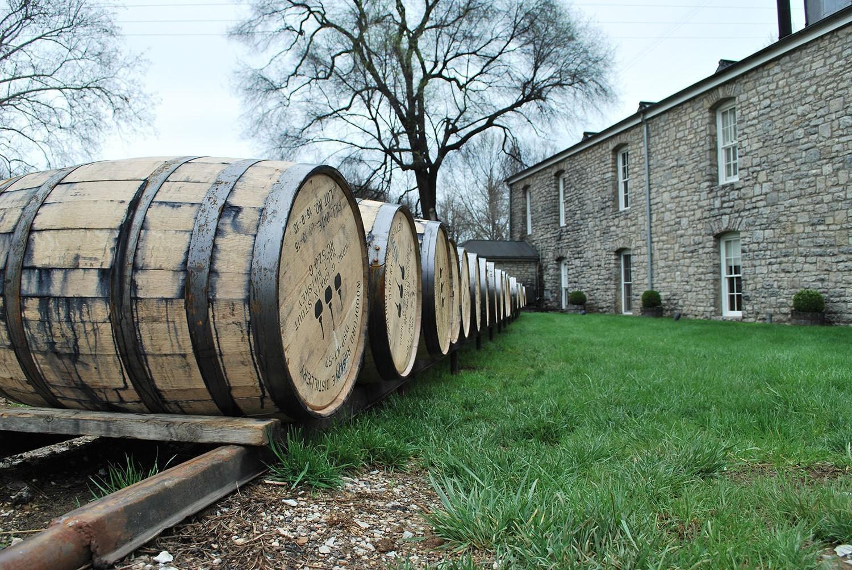 woodford-reserve-distillery-restoration-visitor-center-barrels