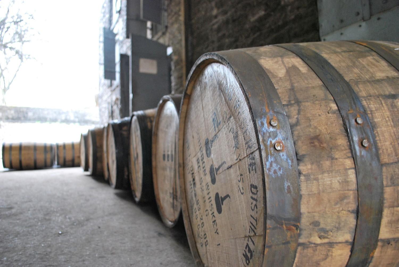 woodford-reserve-distillery-restoration-visitors-center-barrels