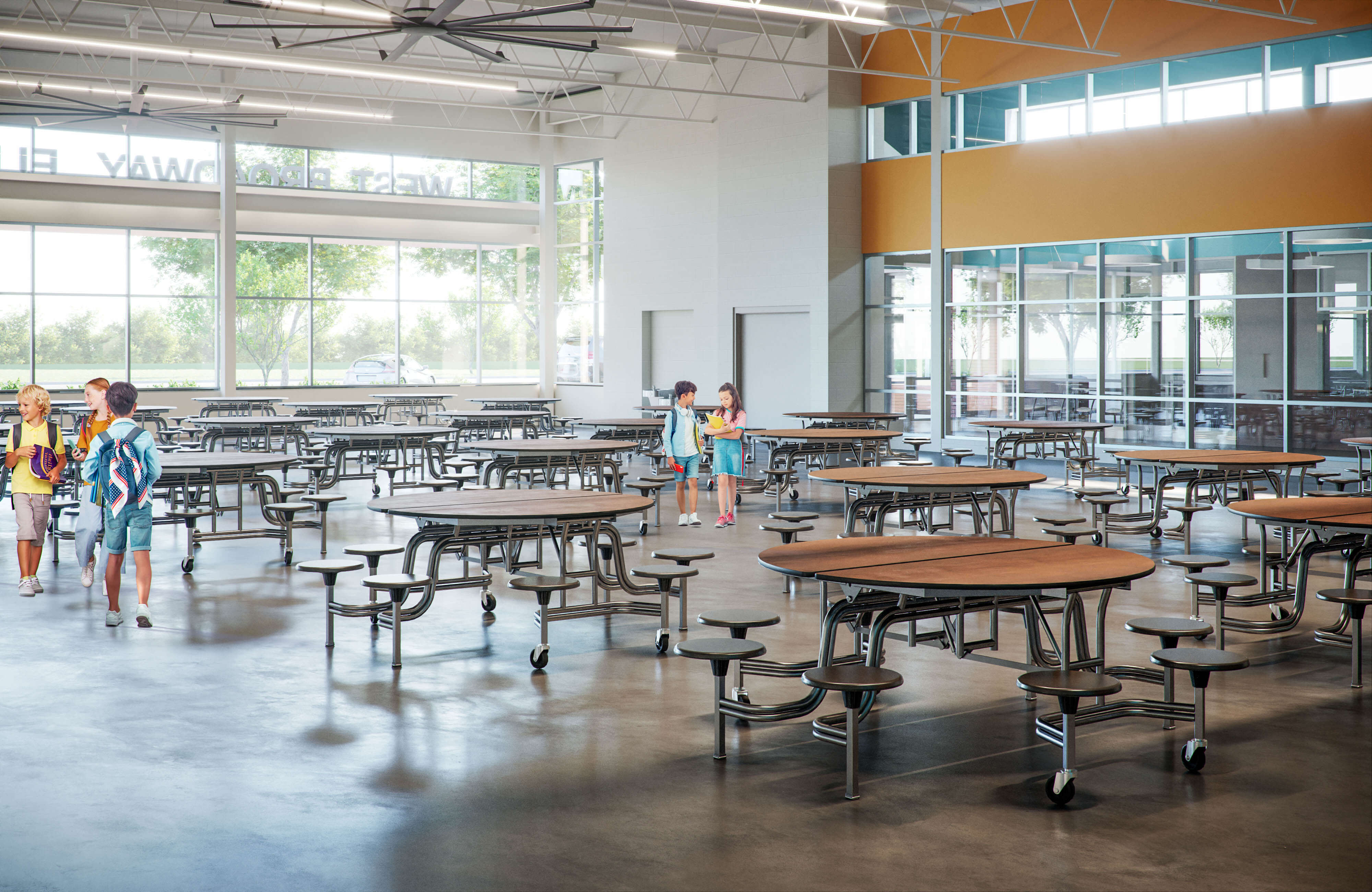 JCPS-WestBroadwayElementarySchool-cafeteria