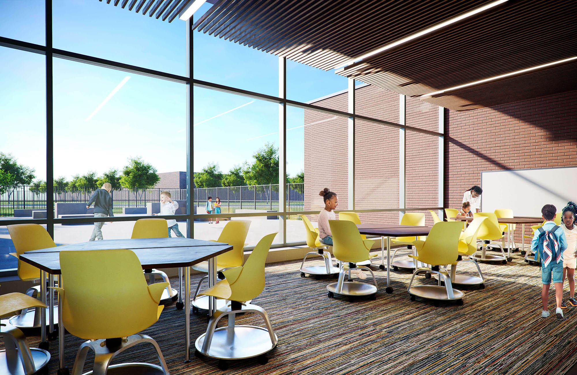 JCPS-WestBroadwayElementarySchool-collaborativespace
