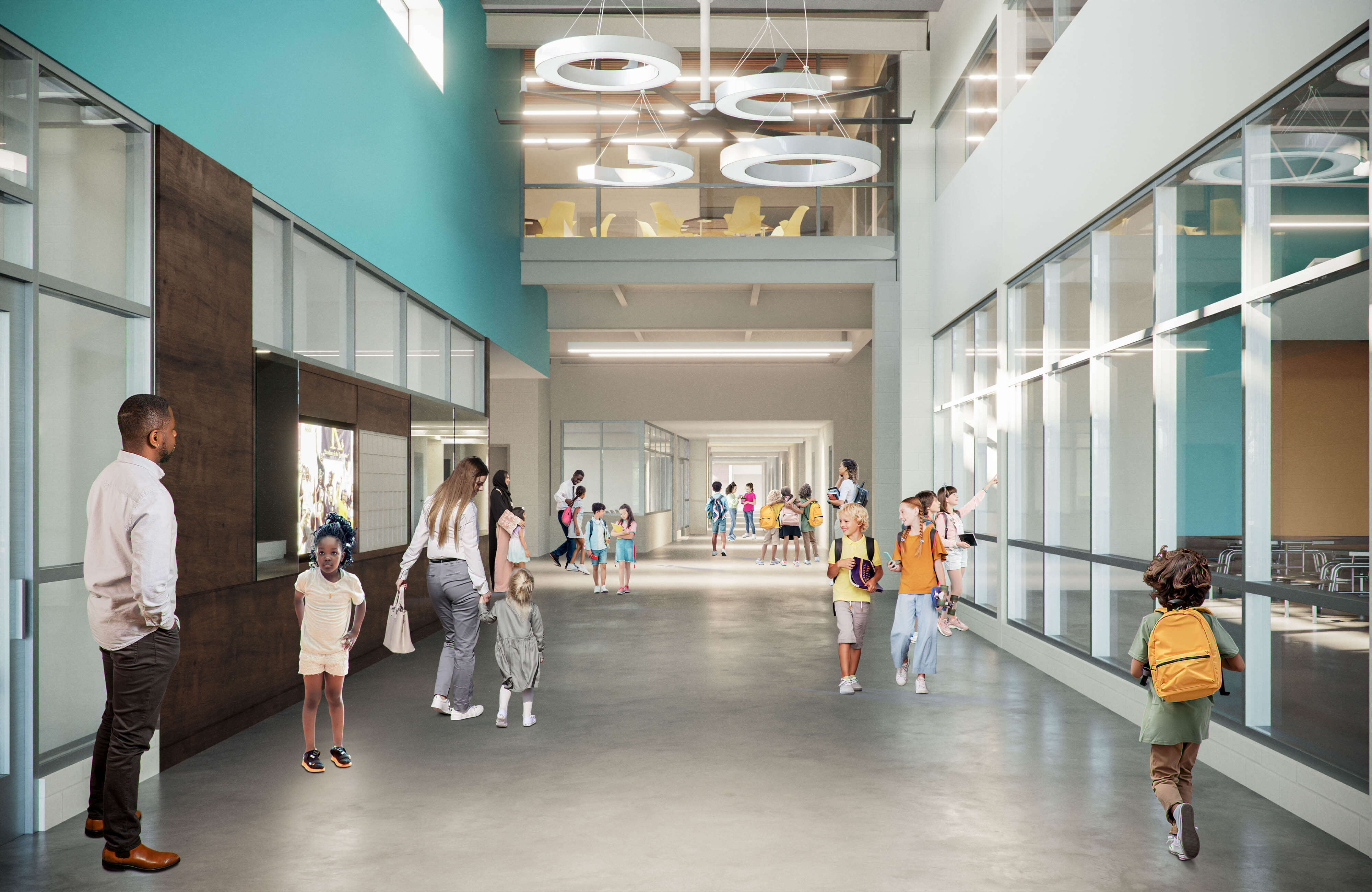 JCPS-WestBroadwayElementarySchool-lobby
